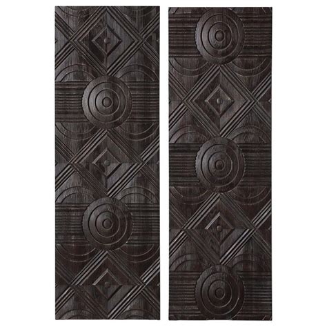 Truth wall decor in black and white. Uttermost Alternative Wall Decor 04199 Asuka Carved Wood ...