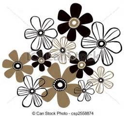 Simple Flower Drawing Patterns