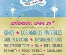Neon Desert Music Festival 2011 El Paso Line up s