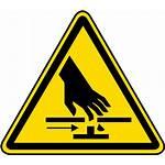 Pinch Point Label Moving Parts Warning Hazard