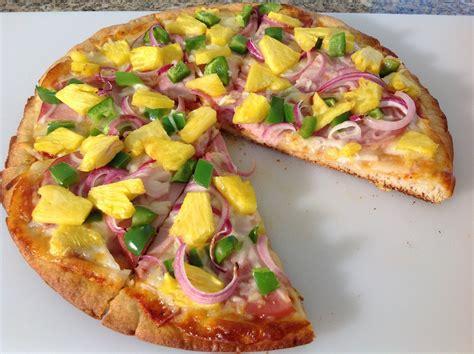 Hawaiian Pizza-How To Make Hawaiian Pineapple Pizza-Recipe ...