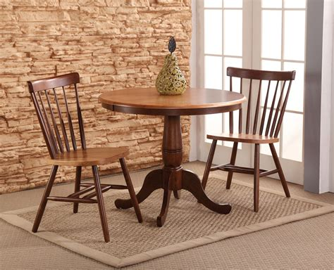 """Round dining table dimensions for 4 people 3. Solid Hardwood 36"""" Round Dining Table - UnfinishedFurnitureExpo"""