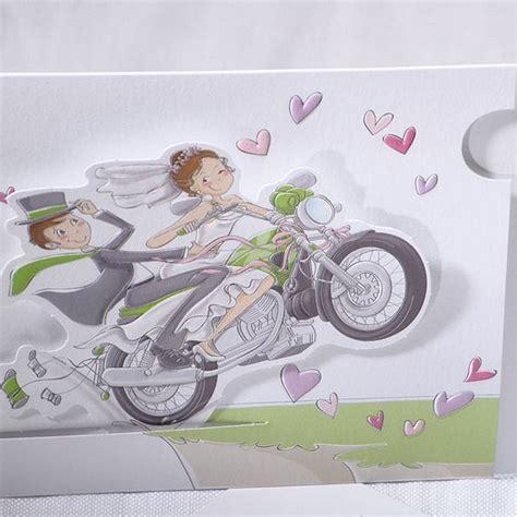 faire part mariage humoristique moto faire part mariage mari 233 s moto coulissant faire part