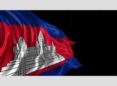 Flag Of Cambodia Beautiful 3d Animation Of Cambodia Flag