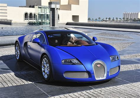 Bugatti Veyron Blue by Bugatti Veyron Grand Sport Blue Colour Car Pictures