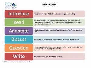 Close Analytic Reading Incorporates