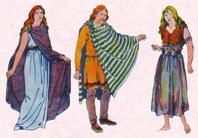 Ancient Celtic clothing | Celtic clothing, Celtic costume ...