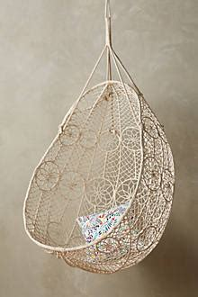 Knotted Melati Hanging Chair Uk by Knotted Melati Hanging Chair Anthropologie