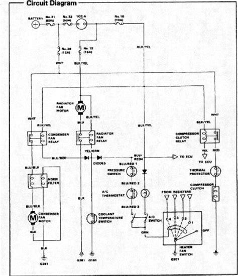 a c wiring diagram honda tech