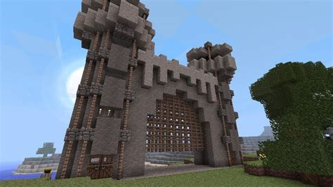 davids castle gate minecraft project minecraft castle minecraft city minecraft projects