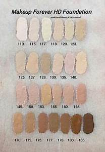 Kat Von D Foundation Color Chart The Beauty Vanity Make Up For Ever Ultra Hd Invisible