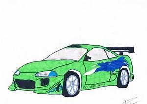 Dessin Fast And Furious : eclipse fast and furious 1 bryan le dessinateur de la 5a ~ Maxctalentgroup.com Avis de Voitures