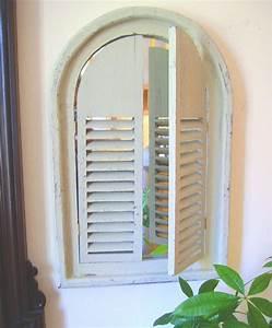 Spiegel Sichtschutzfolie Fenster : spiegel fenster mit lamellent ren g ~ Articles-book.com Haus und Dekorationen