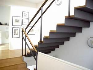 Stahltreppe Mit Holzstufen : schlosserarbeiten huhle stahl und metallbau gmbh ~ Orissabook.com Haus und Dekorationen