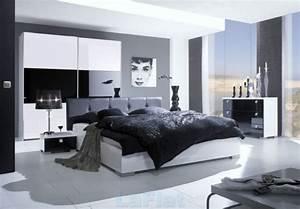 Wohnideen Für Schlafzimmer : wohnideen f r schlafzimmer modern schwarz wei schlicht neues zimmer pinterest schwarz ~ Michelbontemps.com Haus und Dekorationen
