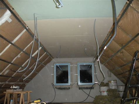placo des plafonds de l 233 tage notre l avancement de notre maison castor 224 evin