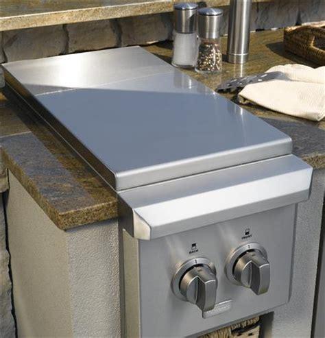 ge monogram dual burner outdoor cooktop liquid propane zgulpss ge appliances