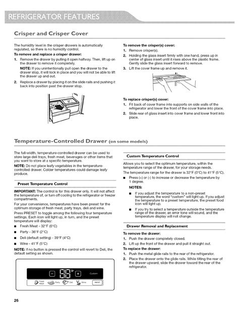 kitchenaid kfispbms  user manual refrigerator manuals  guides