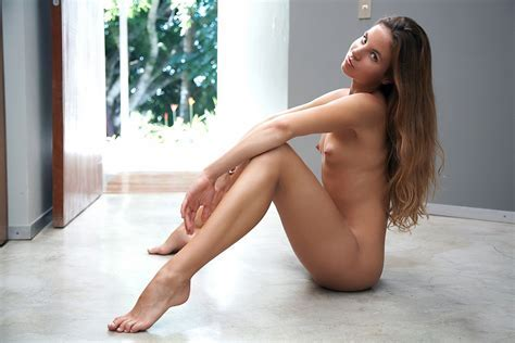 Wallpaper Brunette Sexy Girl Nude Naked Legs Tits