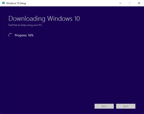 How To Resume Windows 10 by How To Resume A Failed Windows 10 Installation Media Creation