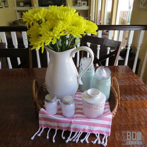 everyday table centerpieces on pinterest everyday this easy everyday centerpiece starts with a basket