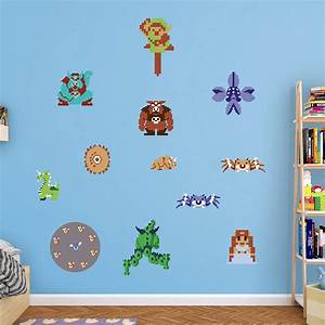 the legend of zeldatm nestm collection wall decal shop With awesome zelda wall decals ideas