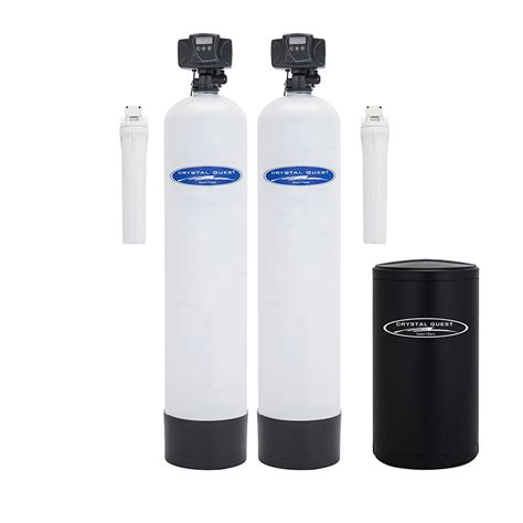 water softener dual tank water softener and whole house filter system Home