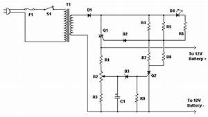 Best Automatic 12v Lead Acid Battery Charger Circuit Diagram