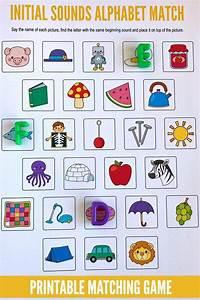 beginning sounds alphabet matching game initial sounds With alphabet letter sounds games