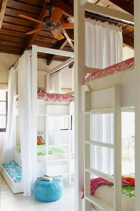 Bunk Bed Drapes - interior design inspiration photos by beth webb interiors