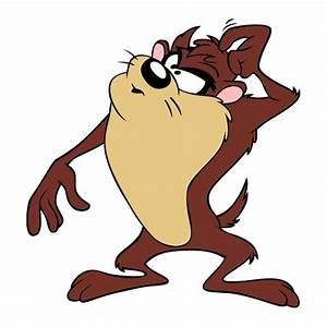 Walt Disney Tasmanian Devil Looney Tunes Cartoon Wallpaper
