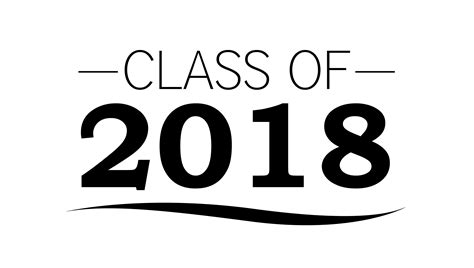 Class Of 2018 Graduation Clip Art 2