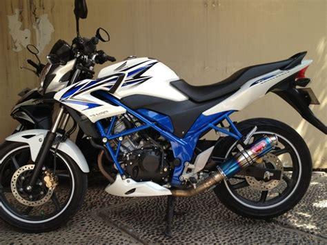 Modifikasi Motor Cb 150 R by Foto Modifikasi Motor Cb 150 R Warna Putih Tentang Honda