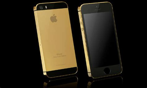 iphone 5s gold price iphone 5s high end 24 carat gold variant now available