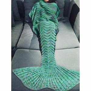 Plaid Queue De Sirene : bestyle29 couvertures queue de sir ne ~ Preciouscoupons.com Idées de Décoration