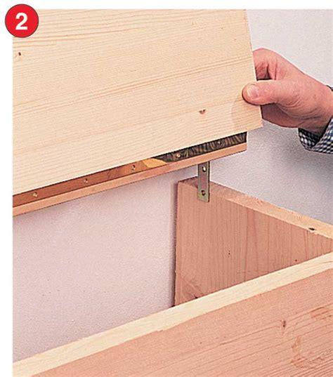 come costruire un letto contenitore come costruire un letto contenitore in legno massello