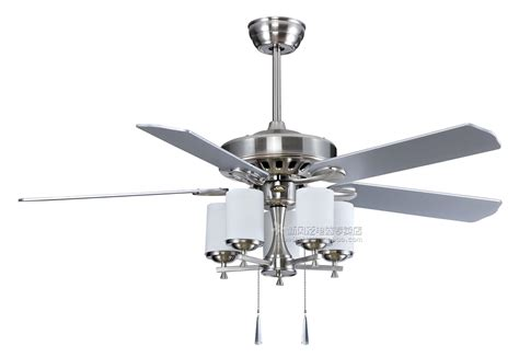 Ceiling Fan With by Silver Ceiling Fans Lighting And Ceiling Fans