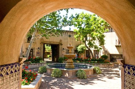 courtyard fountains fountain   courtyard  photo  arizona west trekearth