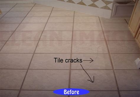 how to fix a damaged floor tile thefloors co