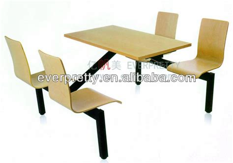 industrial table chairs for fastfoods outdoors fast food