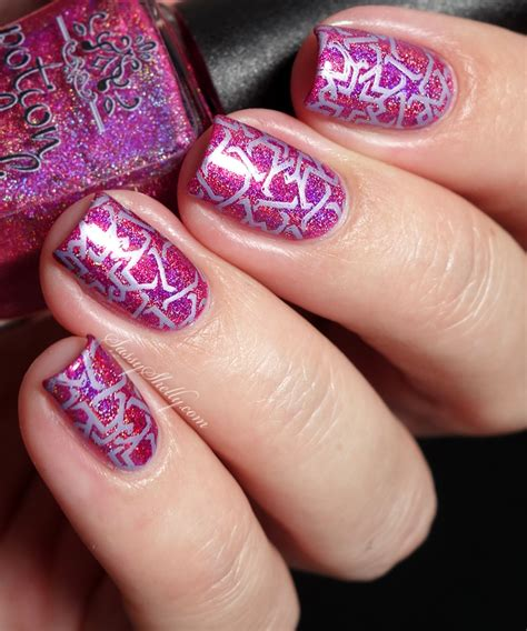 Geometric Stamping With Potion Polish & Gleamershop  Sassy Shelly