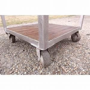 Table Fer Bois : table industrielle fer et bois ~ Teatrodelosmanantiales.com Idées de Décoration