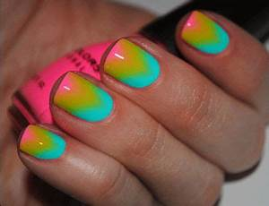 591 best OMBRE GALAXY nail designs images on Pinterest