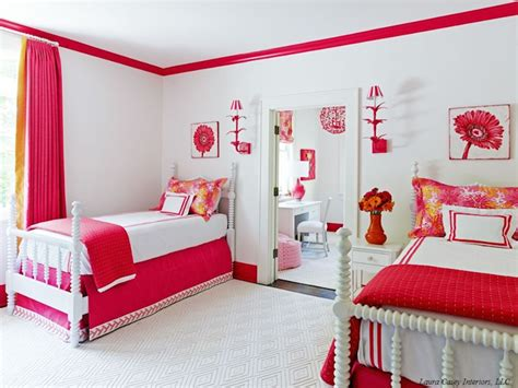 transitional girls room laura casey interiors
