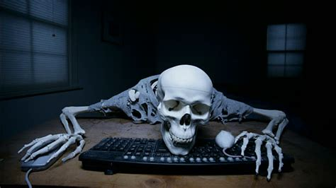 Skeleton Computer Meme - skeleton waiting computer blank template imgflip
