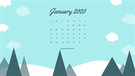 january  calendar wallpapers top january