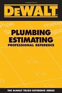Dewalt Plumbing Estimating Professional Reference  Dewalt