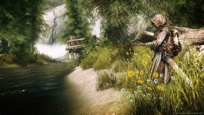 Skyrim Wallpapers 1080 Cave Reading Wallpapercave 1920