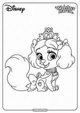 Coloring Pets Printable Palace Muffin Pdf Whatsapp Tweet sketch template