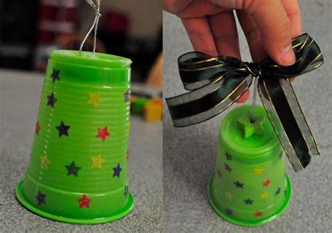 creare con bicchieri di plastica 10 lavoretti di natale con bicchieri di plastica o carta